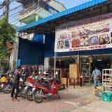 カンボジアのリサイクルショップしろいとり