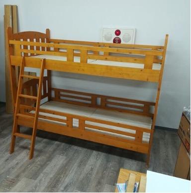 遺品整理想いてでは、二段ベッドも買取対象です。